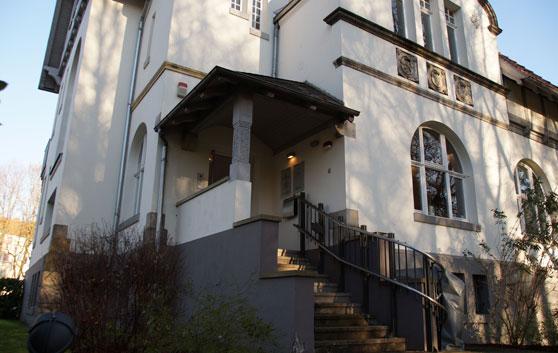 Eingang Parkklinik Hannover